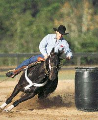 Teaching Rate at the First Barrel by Talmadge Green | EquiSearch: Horse&Rider