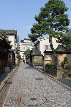 Nagamachi, old samurai residence area in Kanazawa, Japan
