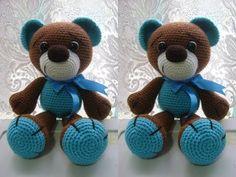 Amigurumi Oso Pijama : Orsetto uncinetto amigurumi tutorial bear crochet osito