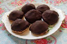 Cupcakesfluffan: Chokladbiskvier