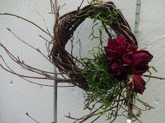 Twig Wreath Birch Wreath Floral Wreath Thank You Gift Accent Wreath Small Wreath Wall Decoration Birthday Gift Wedding Decorations Acorn Wreath, Twig Wreath, Small Wreath, Floral Wreath, Hand Flowers, Types Of Flowers, Dried Flowers, Bridal Flowers, Delphinium Flowers