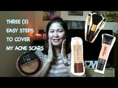 MY THREE EASY STEPS TO COVER ACNE SCARS -  CLICK HERE for the Acne No More program #acne #acnecure #acnetips #acnecare My 3 easy steps to cover my acne scars.  - #Acne