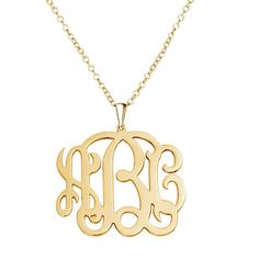 """Pugster Monogram Necklace Sterling Silver Personalized Initial Name Ring"": ""Pugster Monogram Necklace… Monogram Jewelry, Monogram Necklace, Personalized Necklace, Gold Necklace, Cheap Jewelry, Custom Jewelry, Custom Name Necklace, Sterling Silver Hoops, 18k Gold"