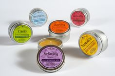 Bluecorn Naturals 100% Pure Beeswax Aromatherapy Travel Tins (2oz., Clarity) >>> Read more reviews of the product by visiting the link on the image.