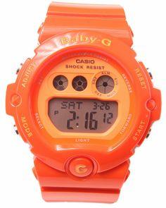 G-Shock By Casio Women Bg-6902 Vivid Orange Watch Orange 1SZ