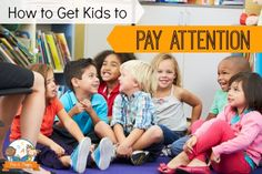 Challenging Behaviors Book Study: Getting Kids to Pay Attention in the Classroom Concordia credit Preschool Behavior, Kindergarten Classroom Management, Preschool Kindergarten, Classroom Rules, Preschool Rules, Kindergarten Reading, Classroom Ideas, Teaching Manners, Teaching Ideas