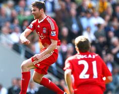 No.19: XABI ALONSO (143 appearances)