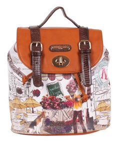 5d95576bd Look what I found on #zulily! Nicole Lee Garden Flower Gitana Vintage  Backpack Handbag