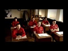 From one of phone service provider commercial...one of Manchester United promotion for their tour to Asia..
