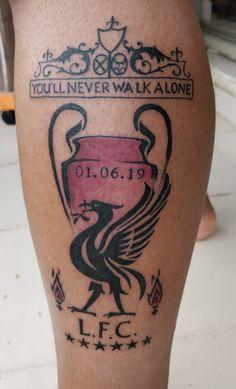 Liverpool forever till i die Liverbird Tattoo, Ynwa Tattoo, Band Tattoo, New Tattoos, Tattoos For Guys, Samoan Tattoo, Polynesian Tattoos, Liverpool Tattoo, Liverpool Fc