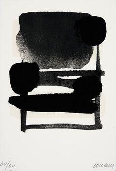 Pierre Soulages, Serigraphie N° 6