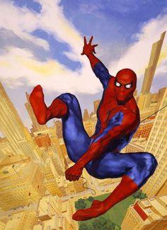 #Spiderman #Fan #Art. (Spider-Man Vol.1 #16 Cover) By: Glen Orbik. (THE * 5 * STÅR * ÅWARD * OF: * AW YEAH, IT'S MAJOR ÅWESOMENESS!!!™) ÅÅÅ+
