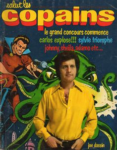 Salut Les Copains - n°123 - 1972 - Joe Dassin Age Tendre, Sheila, Jukebox, Writer, Singer, Magazine, Questions, Board, Photos