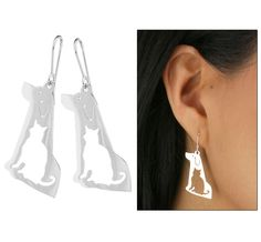 Peruvian Sterling Cat & Dog Earrings - Every Purchase Funds Food and Care for Rescued Animals.