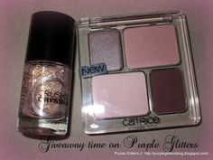 Purple Glitters: Giveaway time!