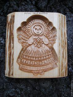 Пряничная доска `Ангелочек` Размер 10 х 15 см.