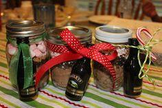 Mason Jar Hot Chocolate & Bailey's
