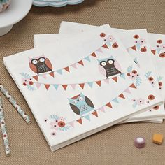 Patchwork Owl Party Ware by Ginger Ray Owl Themed Parties, Owl Parties, 2nd Birthday Parties, Owl Wedding, Adult Party Themes, Wholesale Party Supplies, Paper Owls, Tea Party Decorations, Hen Party Accessories