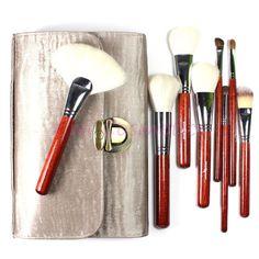 Most Gorgeous ! Professional Makeup Brushes Tool Kit 26 Pieces Goat Hair Top Grade Cosmetics set