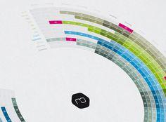 Infographic Calendar 2012 - Bureau Oberhaeuser - Information & Interfacedesign