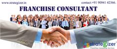 Are you searching for the best Franchise provider? Strategizer is here who is the best Franchise Consultant and provides their entire service to the people who want to enlarge their business via franchaising. http://strategizer.in/ Contact: +91 90941 42366. Email-ID: info@strategizer.in