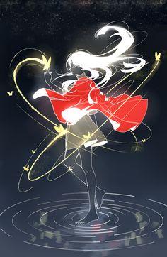 Light Girls, Child Of Light, Lit Wallpaper, Scenery Wallpaper, Sky Art, Light Art, Alice Anime, Sky Games, Light Icon