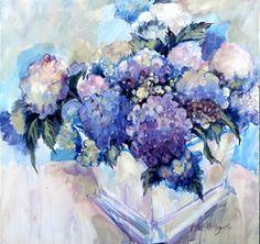 Artwork of Karen Ku - B's Hydrangeas