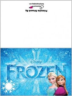photograph about Frozen Birthday Card Printable identified as 145 Perfect Frozen Birthday Printables shots in just 2014