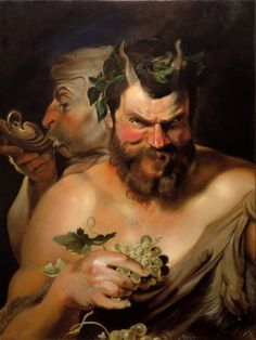 Two satyrs by Lucio1976 on deviantART