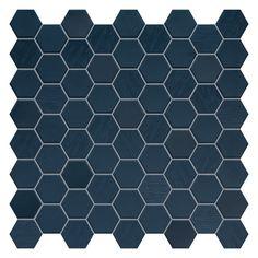Betonstil Hexa Mosaic Deep Navy