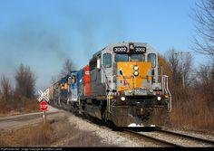 RailPictures.Net Photo: GLLX 3002 Marquette Rail EMD SD40-2 at Bailey, Michigan by Jonathon Leese