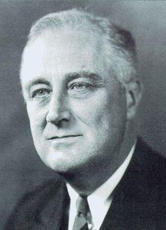 Franklin Delano Roosevelt- 32nd U.S. President who served from 1933-1945