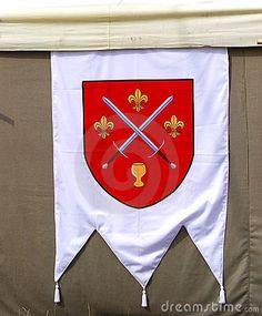 Medieval Flag Stock Image - Image: 8525401