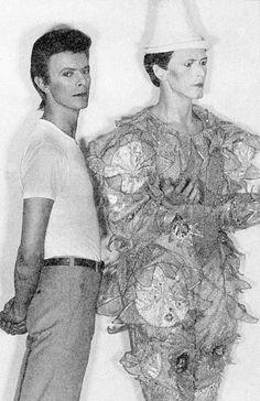 David Bowie, 1980. Photo by Greg Gorman.