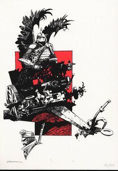 Myetzko (TT) - (Sergio Toppi) - Roman Graphique [BDNET.COM]