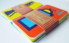 UY Estudio  Línea Fetiche. Set de 3 libretas de 30 hojas c/u. Medida: 10 x 14 cm. Tapa semidura.