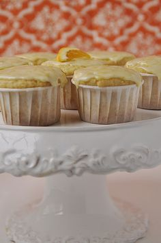 Orange creamsicle muffins!