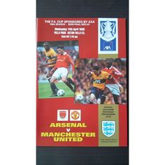 Arsenal v Manchester Utd 1999 FA Cup Semi Final Replay Football Programme Listing in the 1990s,FA Cup Fixtures,English Leagues,Football (Soccer),Sports Programmes,Sport Memorabilia & Cards Category on eBid United Kingdom   144690476