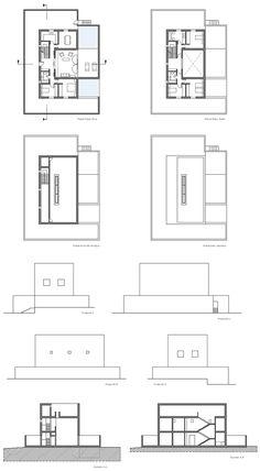 Garcia Marcos House - Progetto di A. Campo Baeza