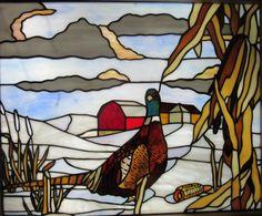 """Képtalálat a következőre: """"pheasant stained glass"""" Stained Glass Studio, Modern Stained Glass, Stained Glass Birds, Stained Glass Panels, Fused Glass, Stained Glass Patterns Free, Stained Glass Designs, Stained Glass Projects, Mosaic Birds"""