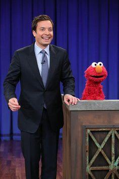 Jimmy Fallon interviews Elmo