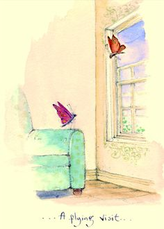 IF93 A Flying Visit - A Two Bad Mice Card by Fran Evans