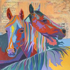 Tamara Ruiz Western Art My Horse, Horse Art, Native Art, Native American Art, Horse Drawings, Southwest Art, All The Pretty Horses, Western Art, Altered Art