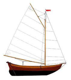 Piirros Huldan uusista purjeista