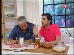 """Pablito Martin en """"Tu vida mas simple"""" mostrando las leches vegetales y ..."""