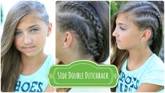 Double Dutchback | Heidi Klum Hairstyles