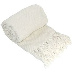 """BOON Knitted Tweed Throw Couch Cover Blanket, 60"""" x 80"""", ..."""