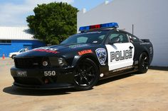 Police Cars Ford Mustang