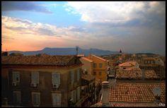 :when the night falls: - Corfu, Kerkyra Corfu Town, Corfu Island, Corfu Greece, Islands, Paradise, Europe, Mansions, Landscape, History