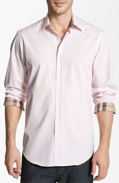 Burberry Brit Classic Fit Poplin Sport Shirt available at #Nordstrom